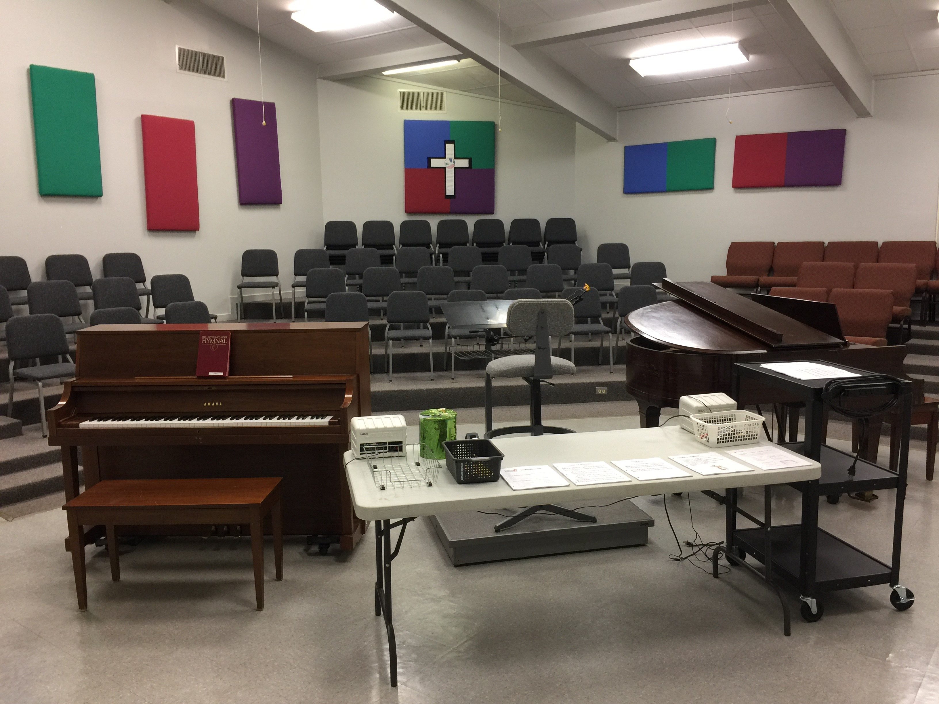 Instruments and Facilities | FUMC Jasper