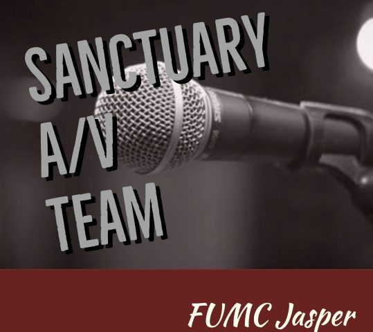 Serve on the Sanctuary A/V Team!