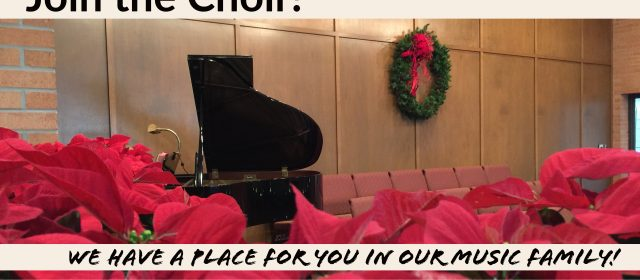 Join the Choir!