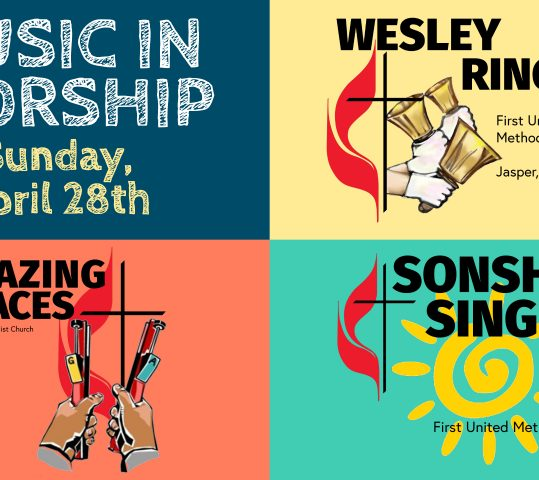 Children's Music on Sunday, April 28th