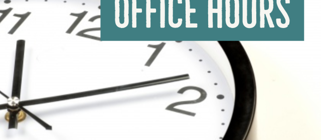 Church Office Hours (effective July 1)