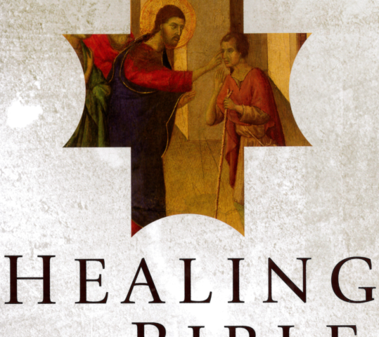 "Weekly Bible Study:  ""Healing in the Bible"""
